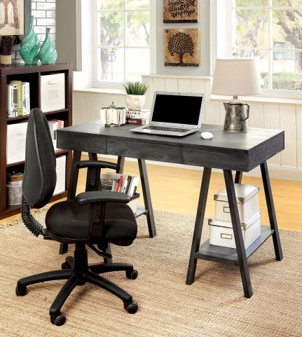 Surrey Gray Home Office Set
