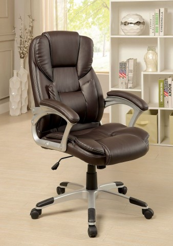Sibley Brown Office Chair