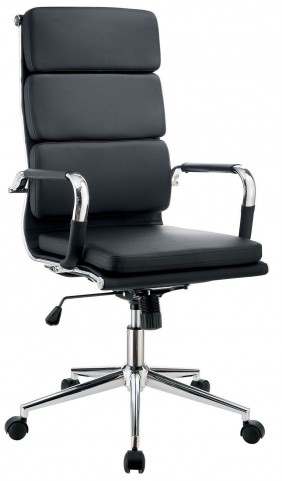 Mercedes Black Large Office Chair