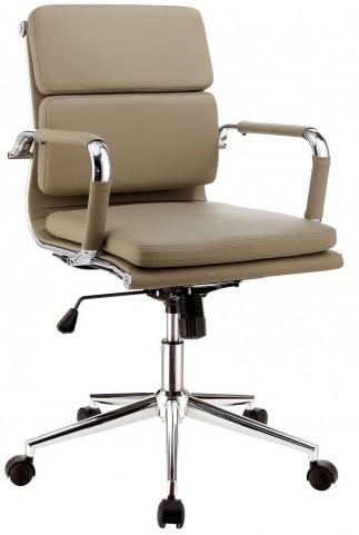 Mercedes Mocha Small Office Chair