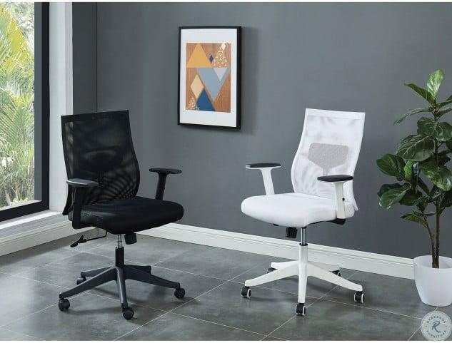 Orli Black Short Back Office Chair