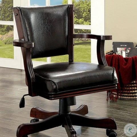 Rowan Cherry Height Adjustable Arm Chair