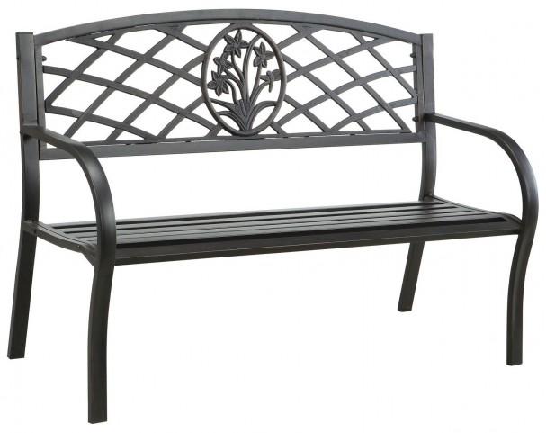 Minot Steel Park Bench