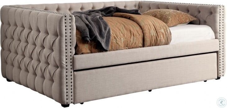 Suzanne Ivory Full Daybed With Trundle