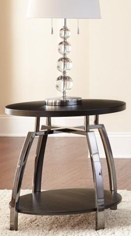 Coham Silvershield 3D Laminate End Table
