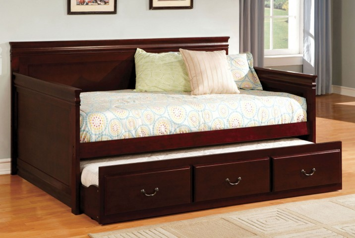 Sahara Cherry Twin Trundle Daybed