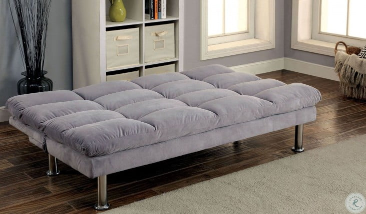 Saratoga Gray Futon Sofa
