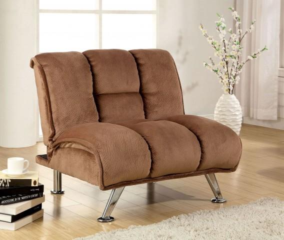 Marbelle Mocha Champion Fabric Chair