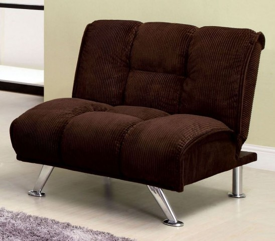 Maybelle Corduroy Chocolate  Chair