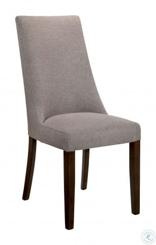 Woodworth Distressed Wood Padded Side Chair Set Of 2