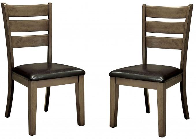 Imelda Gray Side Chair Set Of 2