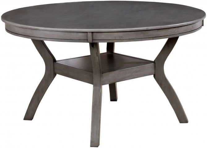 d69bcf4bc704 Juniper Gray Round Dining Table from Furniture of America