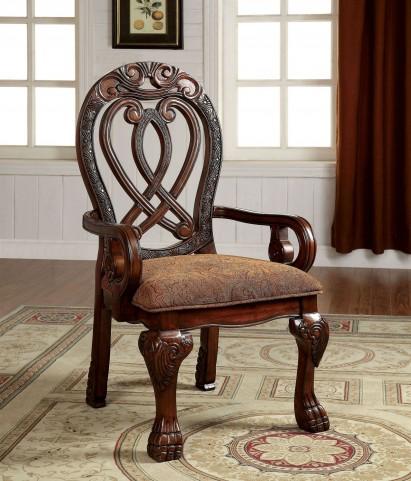 Wyndmere Cherry Arm Chair Set of 2