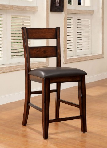 Dickinson II Dark Cherry Counter Height Chair Set of 2