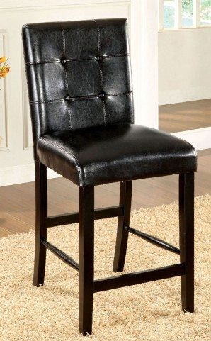 Bahamas Black Counter Height Chair Set Of 2