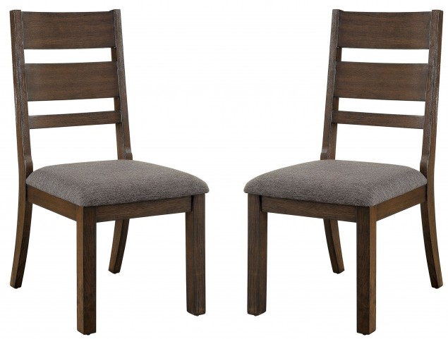 Isadora Espresso Side Chair Set Of 2