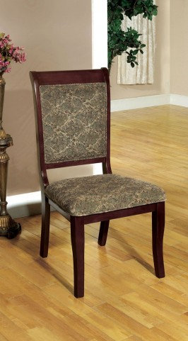 St. Nicholas I Antique Cherry Side Chair Set of 2