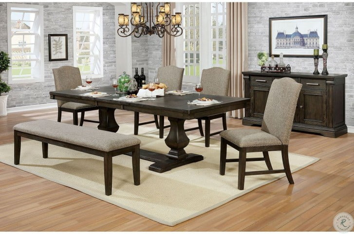 Faulk Espresso Side Chair Set Of 2