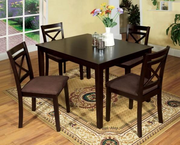 Weston I 5 Piece Dining Table Set