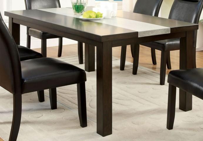 Leonard I Concrete Insert Dining Table