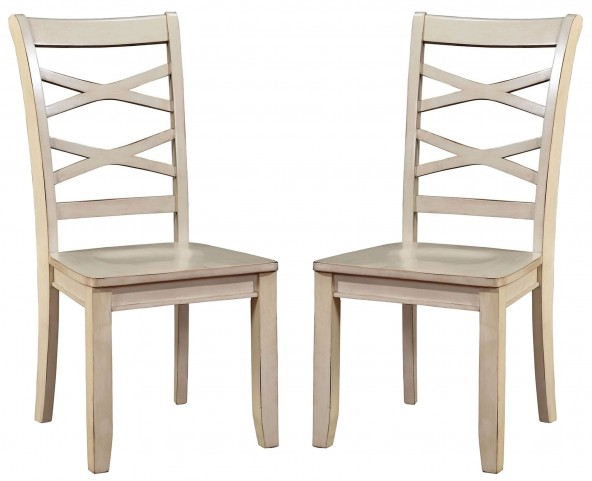 Giselle White Side Chair Set Of 2