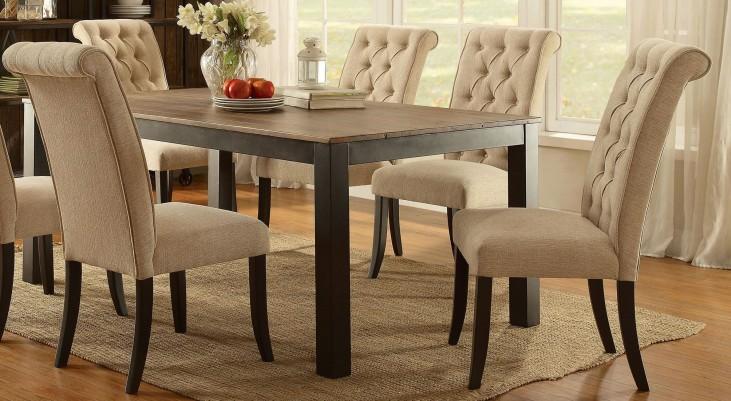 Marshall Rustic Oak Rectangular Dining Table