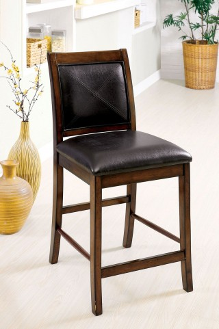 Living Stone II Tobacco Oak Counter Height Chair Set Of 2