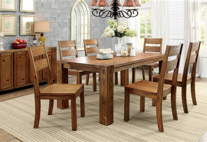 Frontier Rectangular Dining Room Set