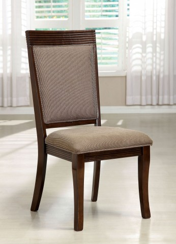 Woodmont Walnut Side Chair Set of 2