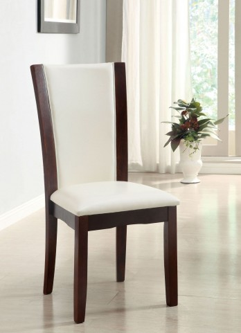 Manhattan I White Side Chair Set of 2