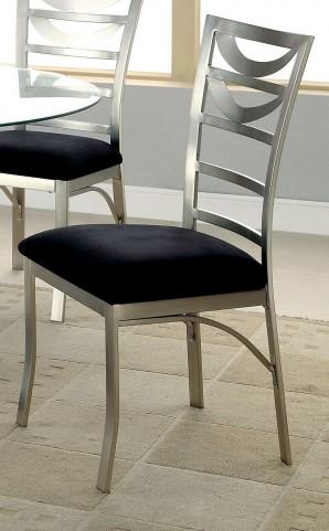 Roxo Microfiber Side Chair Set of 2
