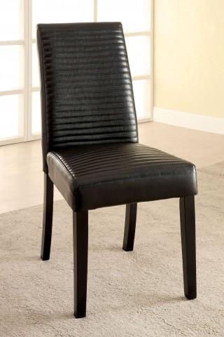 Levna Black Side Chair Set of 2