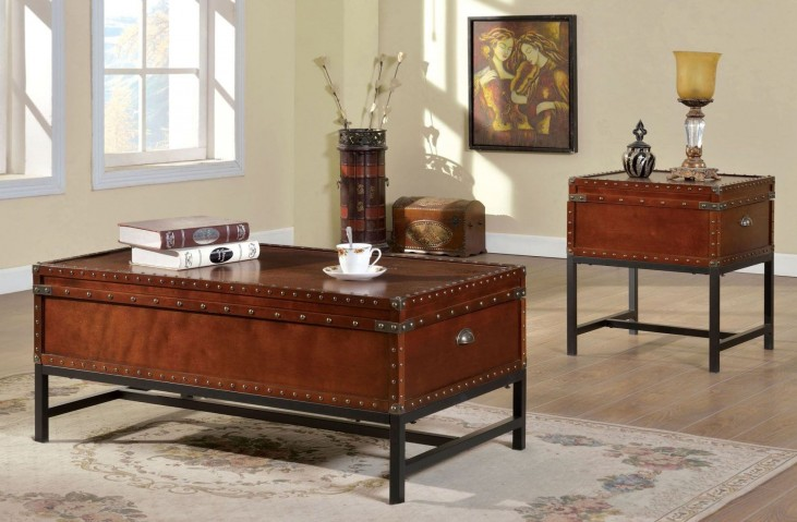 Milbank Cherry Occasional Table Set