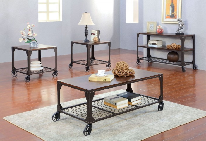 Edgeley I Metal Occasional Table Set