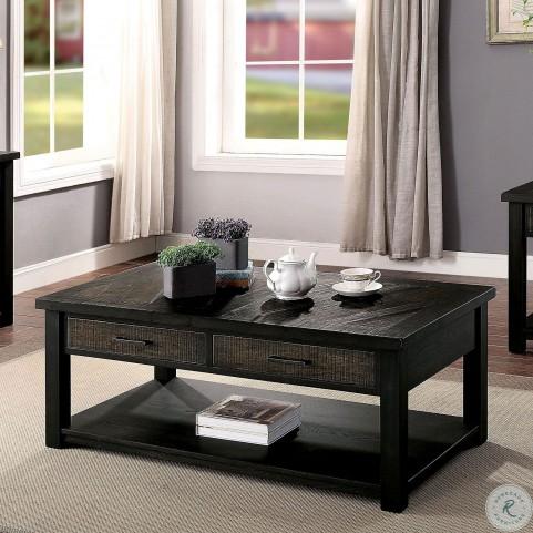 Rhymney Dark Oak Coffee Table