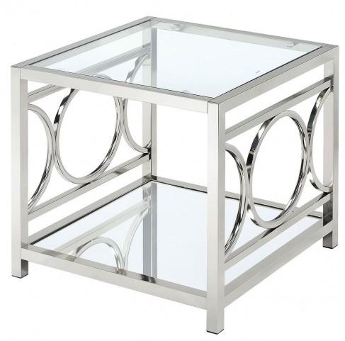 Rylee Chrome End Table