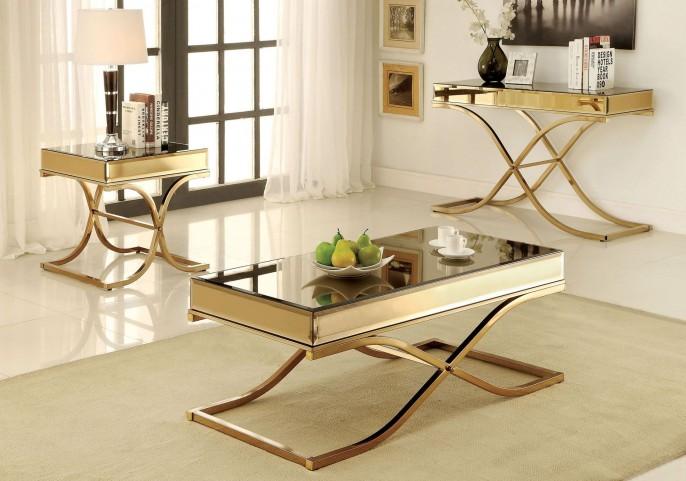Sundance Brass Occasional Table Set