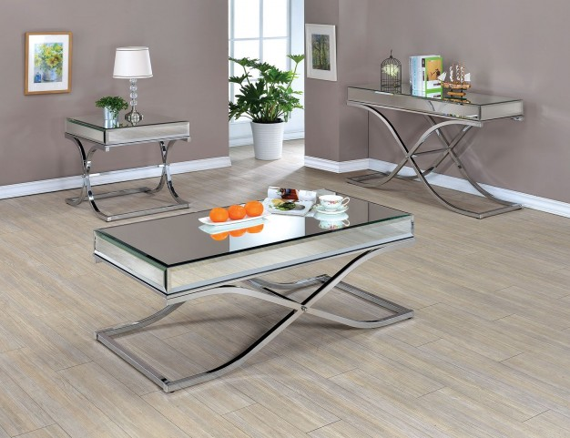 Sundance Chrome Occasional Table Set