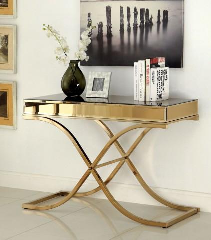 Sundance Brass Sofa Table