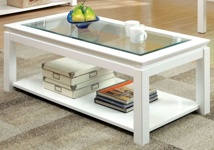 Venta White Coffee Table