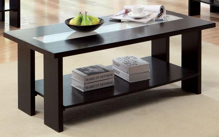 Luminar II Espresso Coffee Table