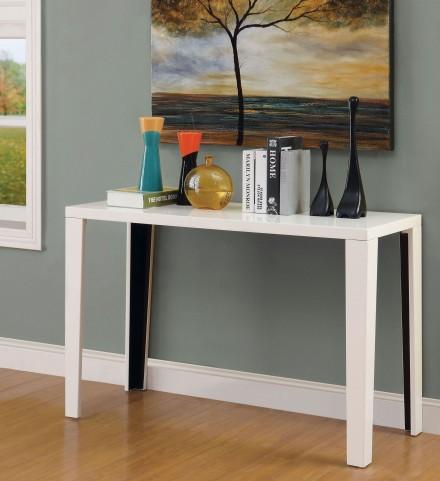 Rheinhardt White Sofa Table