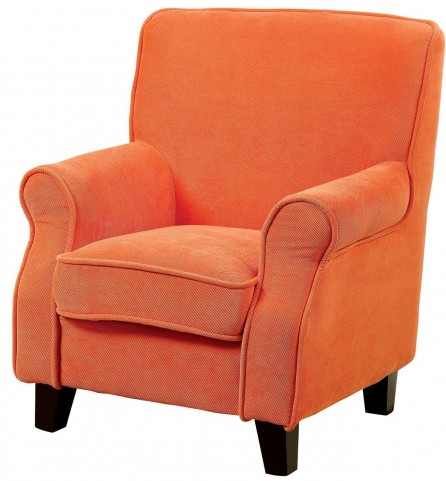 Greta Orange Kids Chair