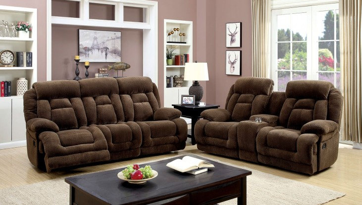 Grenville Brown Power Reclining Living Room Set