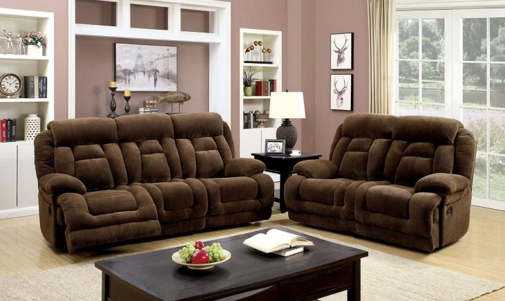 Grenville Brown Reclining Living Room Set
