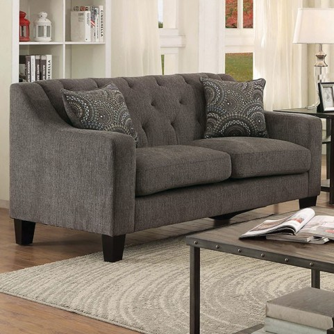 Marlene Gray Loveseat