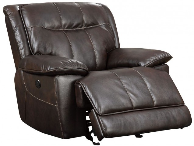 Dolton Brown Power Reclining Chair