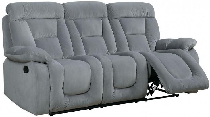 Bloomington Gray Reclining Sofa