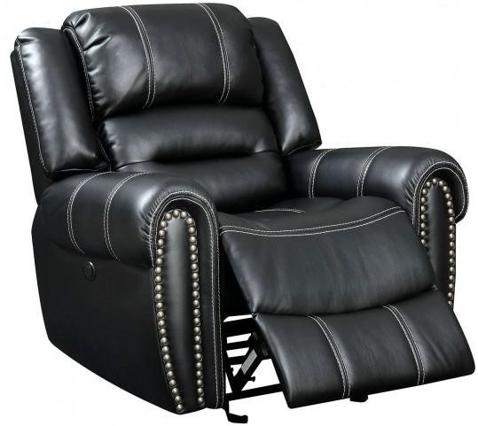 Frederick Black Power Reclining Chair
