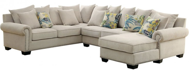 Skyler Ivory Sectional
